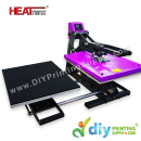 Digital Heat Press Machines > HEATranz PRO+ > Digital Flat Heat Press (Europe) (HEATranz PRO+) (Double Station with Semi-Auto) (50 x 40cm) [A3] [LED Controller]