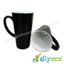 Sublimation Mugs & Plates > Magic Mugs (Black) > Magic Mug (Black) (Glossy) (Cone) (17oz) with White Box