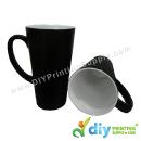 Sublimation Mugs & Plates > Magic Mugs (Black) > Magic Mug (Black) (Matte) (Cone) (17oz) with White Box
