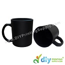 Sublimation Mugs & Plates > Magic Mugs (Black) > Magic Mug (Black) (Matte) (Glass) (10oz) with White Box