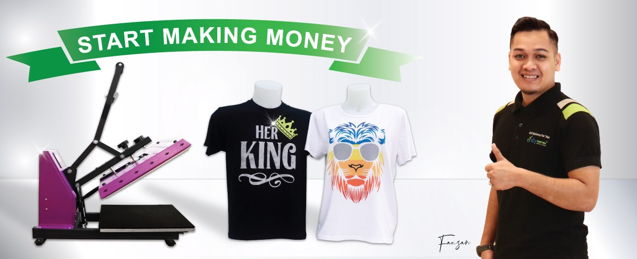 T-shirt Printing Business Package
