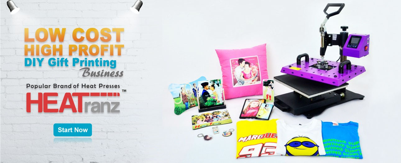 Gift & T-shirt Printing Business Package