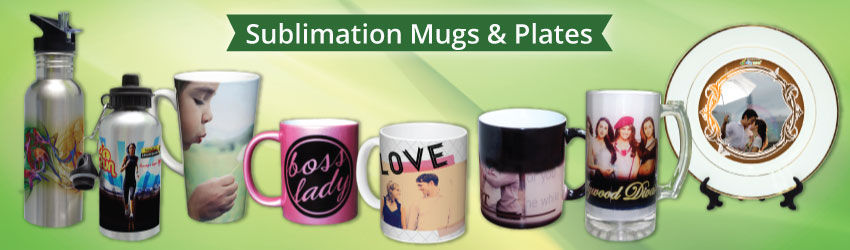 sublimation mugs, sublimation plate