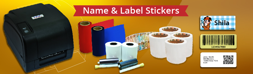 Name & Label Stickers | by Malaysia Supplier