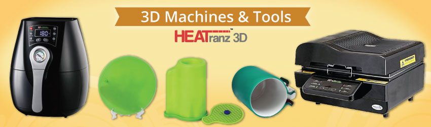 3D Sublimation Machines