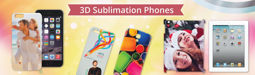 3D Sublimation Phones