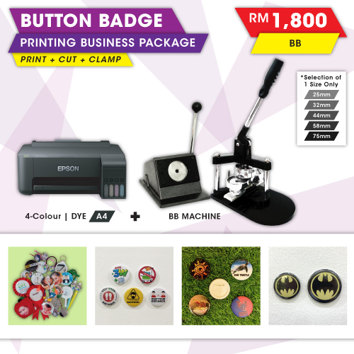 Button Badge Business Package