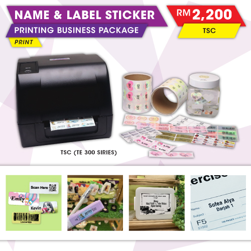 Sticker Printing Machine & TSC Thermal Printer | Malaysia