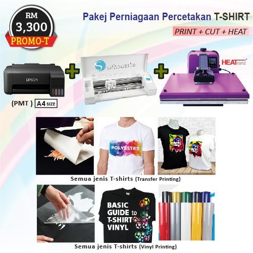 Pakej Perniagaan Percetakan T-shirt