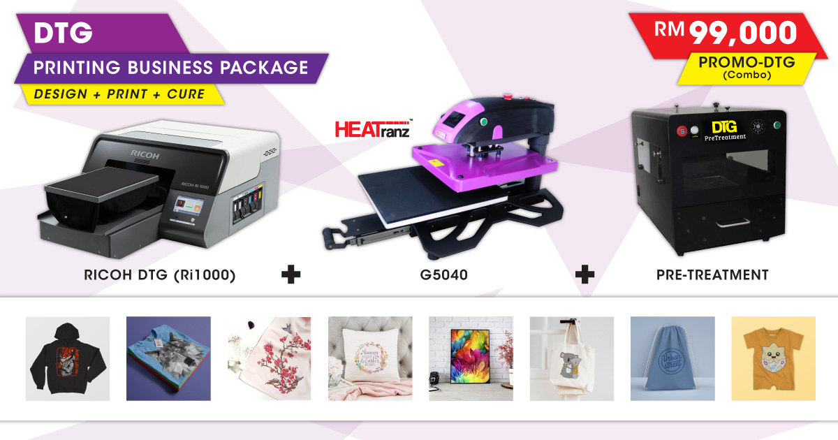 DTG Printing Business Package