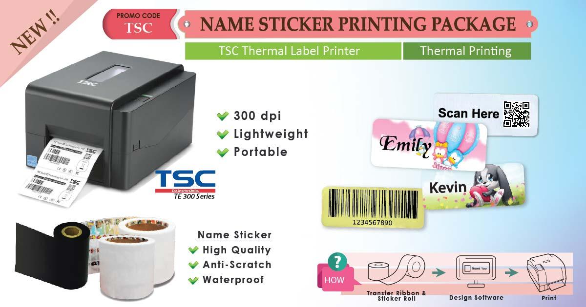 Sticker Printing Machine Amp Tsc Thermal Printer Malaysia