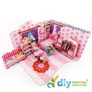 3D Puzzle (Bedroom)