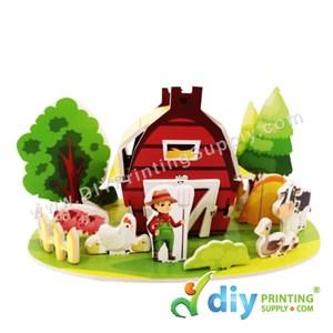 3D Puzzle (House)