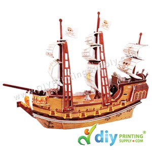 3D Puzzle (Pirate Ship)