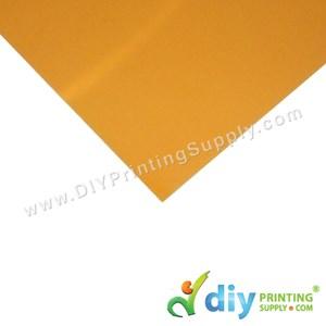 Aluminium Board (No Sparkling) (Gold) (A4)