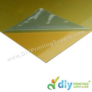 Aluminium Board (Sparkling) (Gold) (A4)