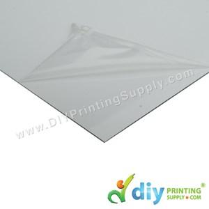 Aluminium Board (Sparkling) (White) (A4)