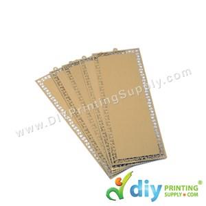 Aluminium Bookmark (Gold) (5 Pcs/Pkt)