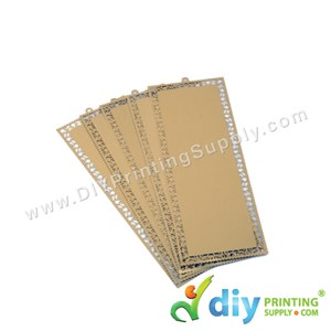 Aluminium Bookmark (Gold) (5 Pcs/Pkt)