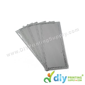 Aluminium Bookmark (Silver) (5 Pcs/Pkt)