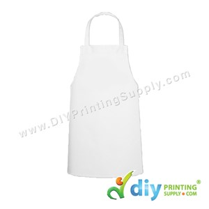 Apron (Premium) (White) (68 X 79cm)