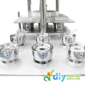 Button Badge Mould 6In1 (58mm) (Hydraulic)