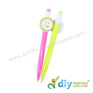 Button Badge Ball Pen With Mylar (25mm) (50 ± Pcs/Pkt)