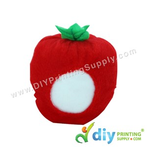 Button Badge Face Doll (Apple)