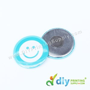 Button Badge Fridge Magnet With Mylar (44mm) (50 ± Pcs/Pkt)