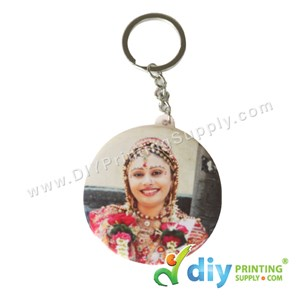 Button Badge Keychain With Mylar (58mm) (50 ± Pcs/Pkt)