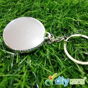 Button Badge Round Keychain With Mylar (25mm) (50 ± Pcs/Pkt)