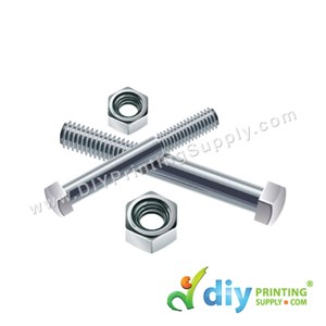 Stainless Steel Screw (2 Pcs/Pkt)