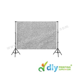 Backdrop (Glitter Silver) (300 X 300cm)