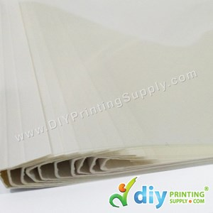 Thermal Binding Folder (3mm) (Up to 25 Pages) (10 Pcs/Pkt) [A4]