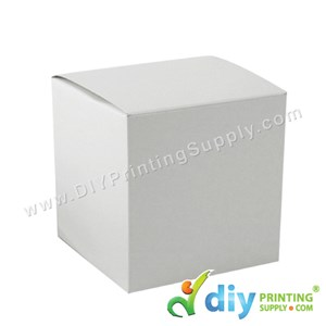 Mug Box (White) (11Oz or 12oz) (105 X 100 X 100mm) (5 Pcs/Pkt)