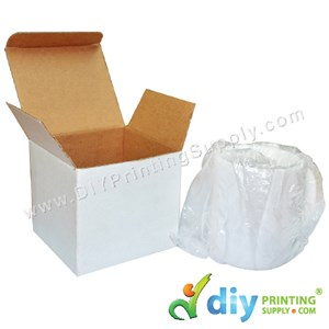 Mug Box (White) (11Oz or 12Oz) (105 X 100 X 100mm) (5Pcs/Pkt)