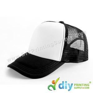 Polyester Cap (Black)