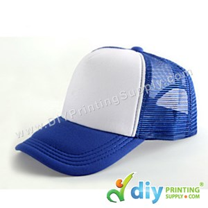 Polyester Cap (Blue)
