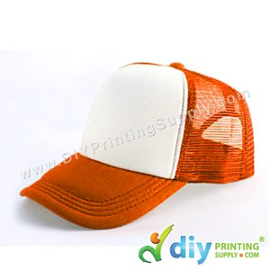 Polyester Cap (Orange)