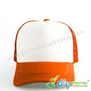 Polyester Cap (Orange)