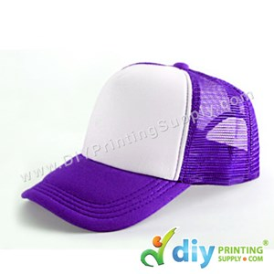 Polyester Cap (Purple)