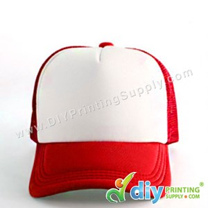 Polyester Cap (Red)