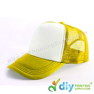 Polyester Cap (Yellow)