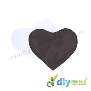 Cushion Cover (Love) [Satin] (Black) (30 X 36cm)