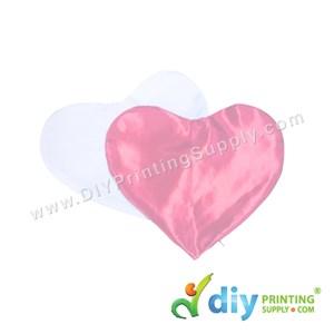 Cushion Cover (Love) [Satin] (Pink) (30 X 36cm)