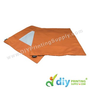 Cushion Cover (Square) (Orange) (40 X 40cm)