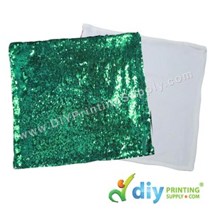 Cushion Cover (Square) (Sparkling Green) (40 X 40cm)