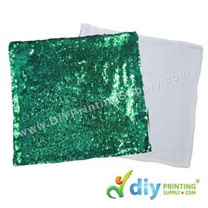 Cushion Cover (Square) (Sparkling Green) (40 X 40cm)