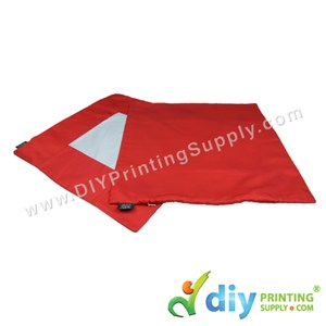 Cushion Cover (Square) (Red) (40 X 40cm)