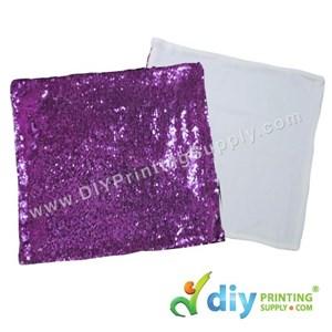 Cushion Cover (Square) (Sparkling Purple) (40 X 40cm)
